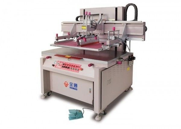 Microwave Oven Panel Screen Printing Machine